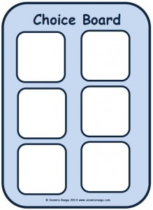 Choice Board 02