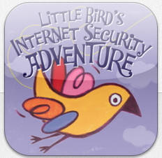 Little Bird's Internet Security Adventure App