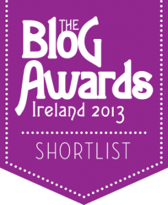 Blog Awards Ireland Short List