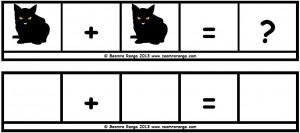 Hallowe'en Maths Sentence Builders 03
