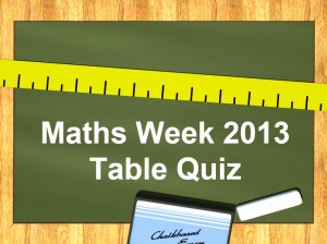 Maths Week 2013