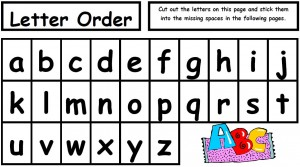New Alphabetical Order Abc Alphabet