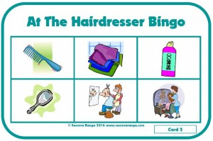 At The Hairdresser Bingo