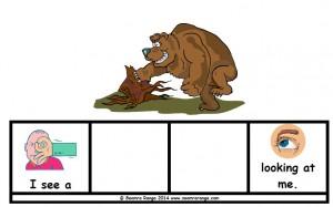 Brown Bear Sentence Builders