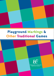 Playground Markings And Traditional Games
