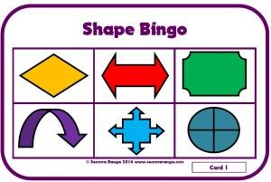 Shape Bingo 02
