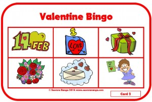 Valentine Bingo 01