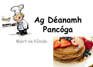 Ag Déanamh Pancóga