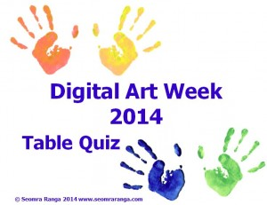 Digital Art Week Table Quiz