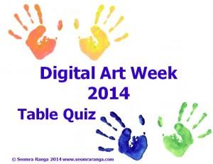 Digital Art Week Table Quiz