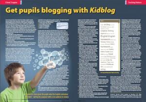 Kidblog in the Classroom