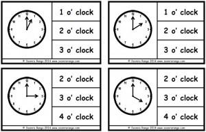 Peg Analogue Time O'Clock