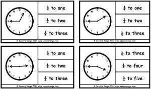 Peg Analogue Time: Quarter To