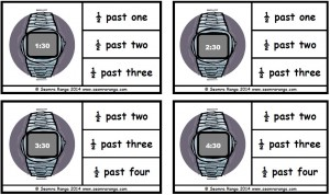 Peg Digital Time: Half Past