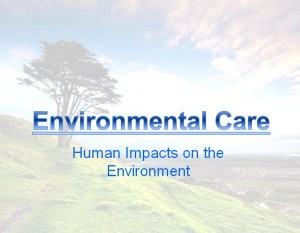 Environmental Care and Awareness