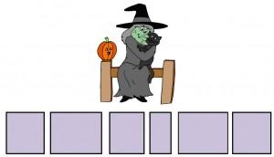 Hallowe'en Sentence Builder 01