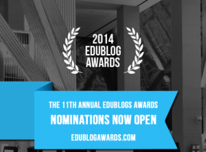 Edublog Awards 2014