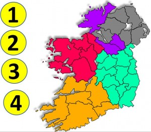 Ireland Province and County test