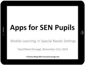 Apps For SEN Pupils