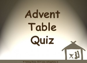 Advent Table Quiz