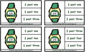 Peg Digital Time: Quarter Past
