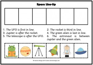 Space Line-Ups