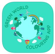 Green World Colouring App