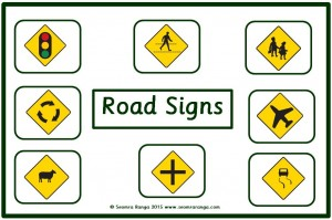 Road Signs Matching 01