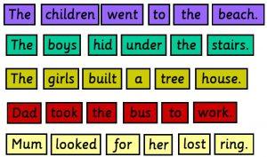 Sentence Strips 14