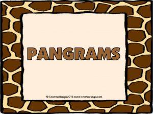pangrams