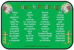 Mata Focal: Naomh Pádraig