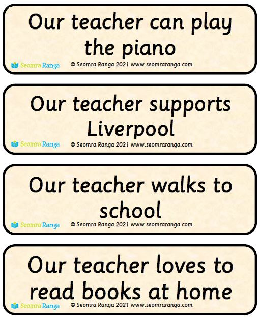 Back To School – Know Your New Teacher