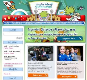 Discover Primary Science and Maths Awards