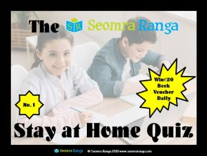 Stay at Home Quiz #1
