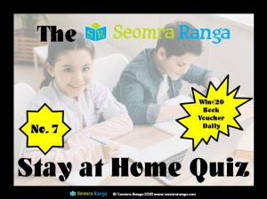 Stay at Home Quiz #7