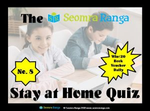Stay at Home Quiz #8