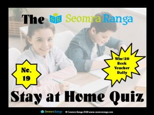 Stay-at-Home Quiz No. 19