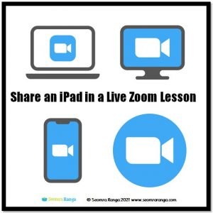 Share an iPad in a Live Zoom Lesson