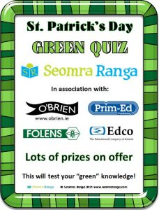 St. Patrick's Day Green Quiz