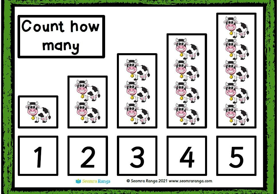 Number-Picture Matching 01 (Free Version)