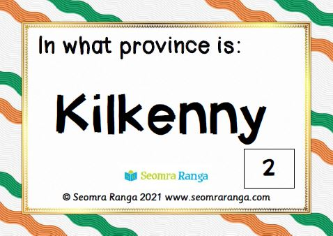 Counties of Ireland Task Cards