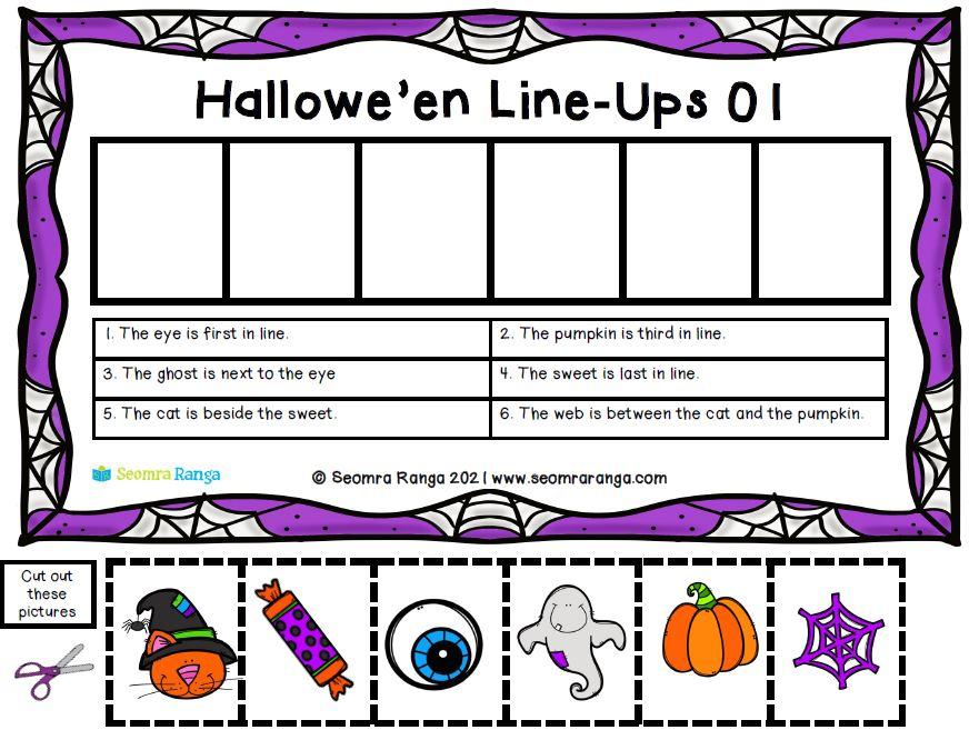 Hallowe'en Line-Ups 01