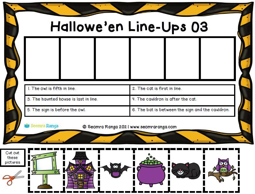Hallowe'en Line-Ups 02