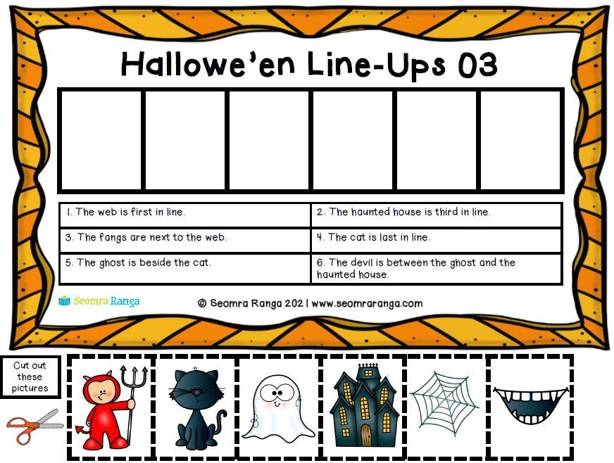 Hallowe'en Line-Ups 03